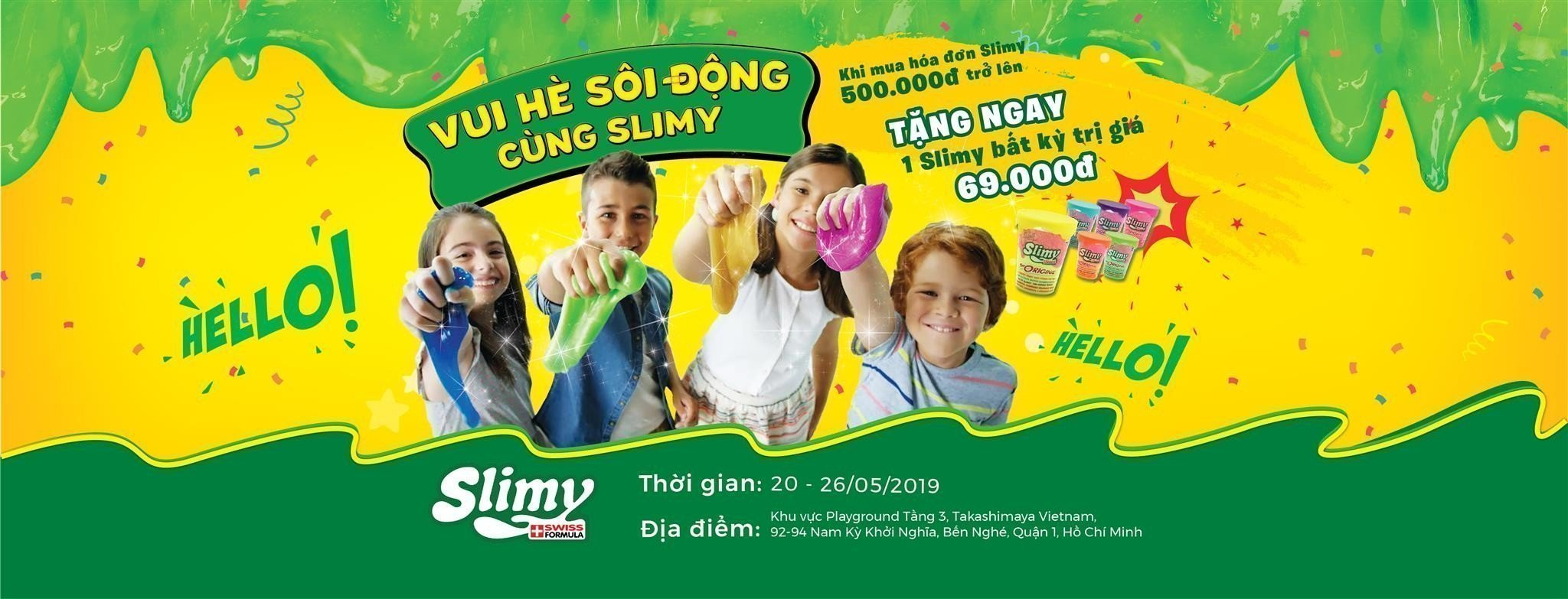 CTKM SLIMY THANG 5
