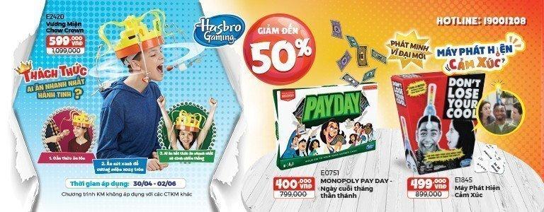 Hasbro Gaming KM thang 5