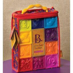 Đồ chơi khối vuông mềm học chữ số