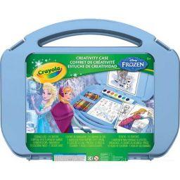 Bộ dụng cụ vẽ Frozen (24 bút sáp, 8 bút lông nét dày tẩy rửa