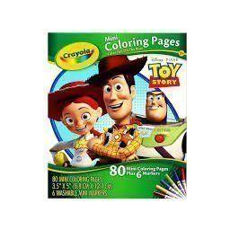Bộ bút giấy tô màu hình nhân vật (3 trong 4 hình)