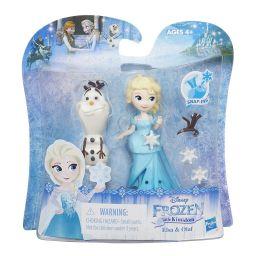 Búp bê công chúa Elsa và Olaf mini