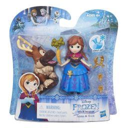Búp bê công chúa Anna và Sven mini