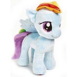 Pony bông - Cầu Vồng (15cm)
