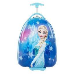 Vali kéo hình Frozen màu xanh FZ25 - 16 inch