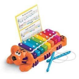 Đồ chơi bộ gõ và đàn piano hình chú hổ