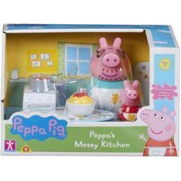 Bộ playset bộ nhà bếp/ mua sắm của Peppa