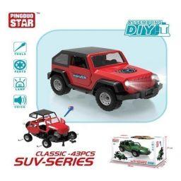 Mô hình lắp ráp DIY - Xe Jeep