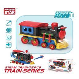 Mô hình lắp ráp DIY - Xe lửa