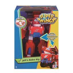 Robot biến hình kết hợp xe cứu hộ nhỏ  - Jett Tia Chớp