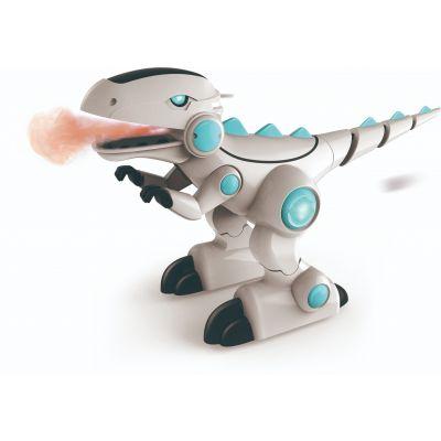 Robot khủng long phun khói