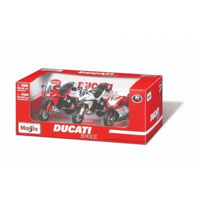 Mô hình bộ 3 xe mô tô 1:18 Ducati