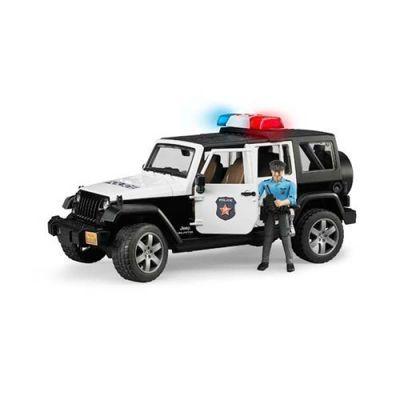Đồ chơi dạng mô hình theo tỷ lệ thu nhỏ 1:16 xe cảnh sát Jee