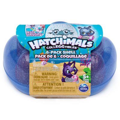 Bộ vỏ sò 6 trứng Hatchimals mini S5