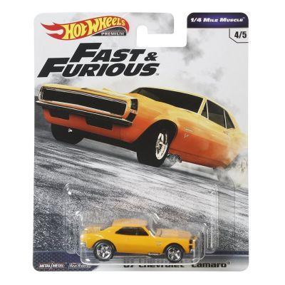 Siêu xe Hot Wheels Fast & Furious 67 CAMARO