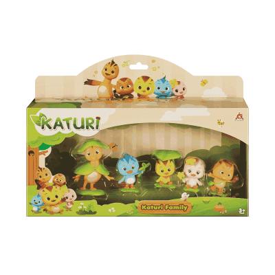 Mô hình mini gia đình Katuri