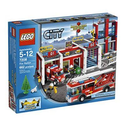 Mô hình lắp ráp Fire Station