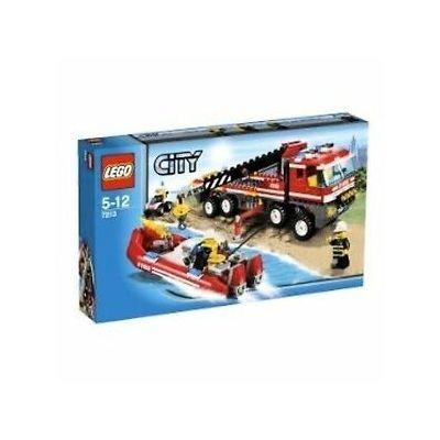 Mô hình lắp ráp Off road Fire Truck & Fireboat