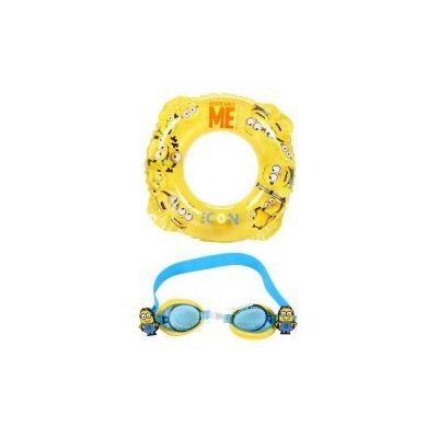 Set phao tròn và kính bơi cho bé - Hình Minions
