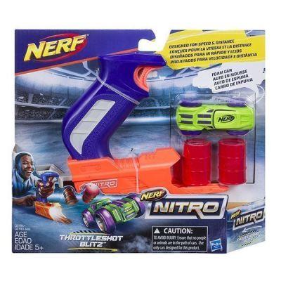 NERF NITRO-Bệ Phóng Xanh Cuồng Phong