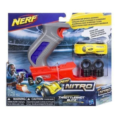 NERF NITRO-Bệ Phóng Xám Cuồng Phong