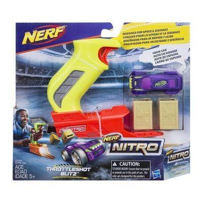 NERF NITRO-Bệ Phóng Neon Cuồng Phong