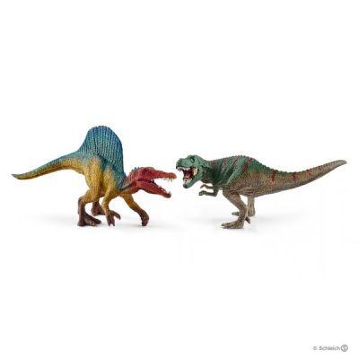 Khủng long Spinosaurus và T-rex