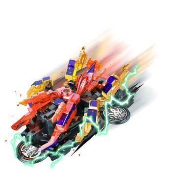Đồ chơi xe biến hình Đế vương bạch tuộc