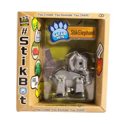 Stikbot safari-voi con-bạc