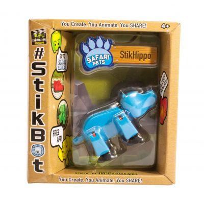 Stikbot safari-hà mã-xanh da trời