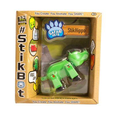 Stikbot safari-hà mã-xanh lá cây