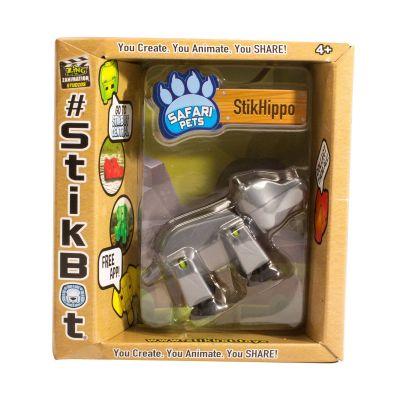 Stikbot safari-hà mã-bạc
