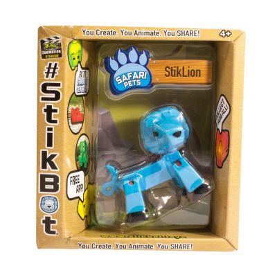 Stikbot safari-sư tử-xanh da trời