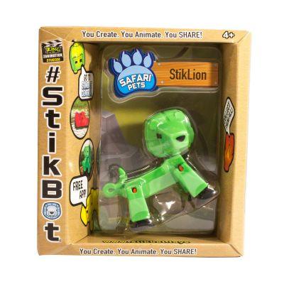 Stikbot safari-sư tử-xanh lá cây