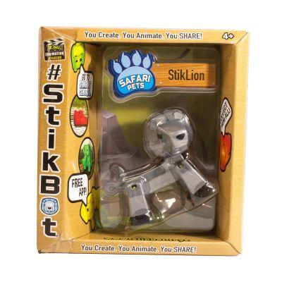 Stikbot safari-sư tử-bạc