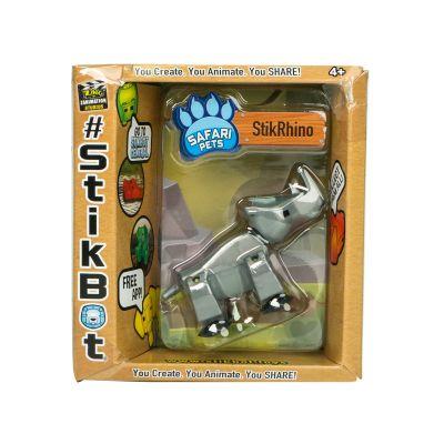 Stikbot safari-tê giác-bạc