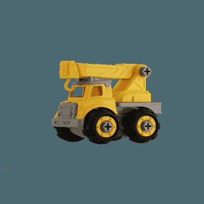 Đồ chơi lắp ráp Vecto DIY - Xe cẩu
