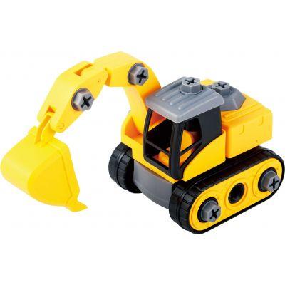 Bộ đồ chơi lắp ráp Vecto DIY - Xe xúc, máy vận chuyển và phụ