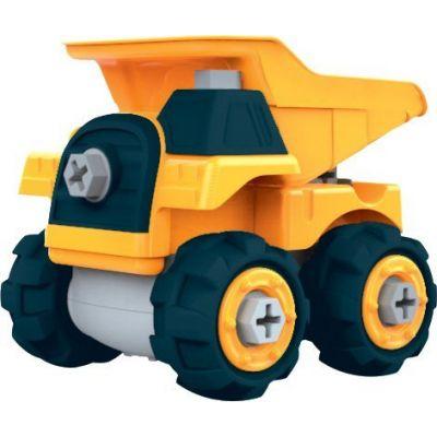 Bộ đồ chơi lắp ráp Vecto DIY - Xe ben, máy vận chuyển và phụ