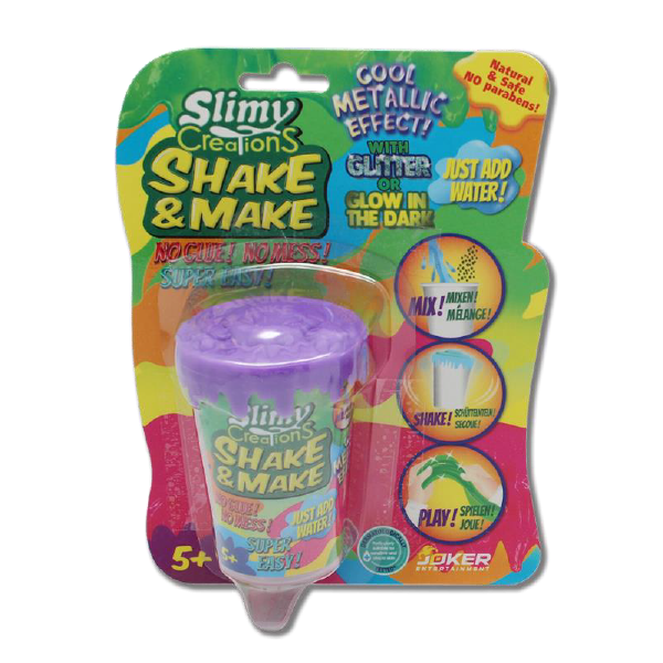 Tự tạo chất nhờn ma quái Slime- tím