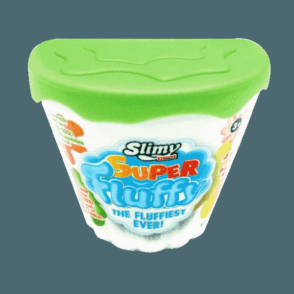 Chất nhờn ma quái Slime- Fluffy-xanh lá