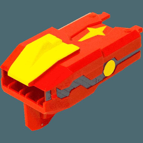 Đồ Chơi Người Máy Rồng Đỏ Bão Lửa Siêu Cấp