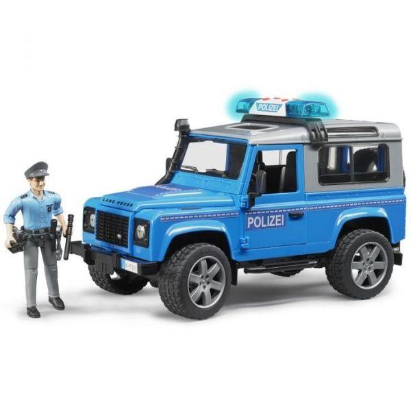 Đồ chơi dạng mô hình theo tỷ lệ thu nhỏ 1:16 Xe cảnh sát  có