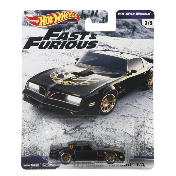 Siêu xe Hot Wheels Fast & Furious PONTIAC FIREBIRD TRANS AM